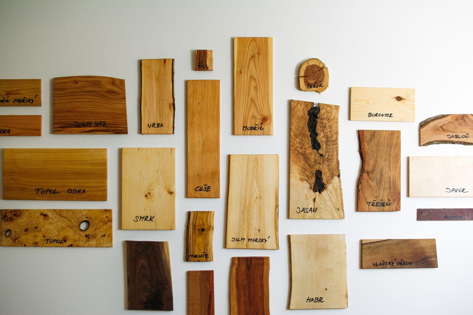 Obrázek 3 - dřevo